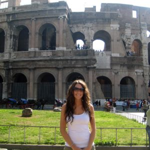 Jackie in Rome