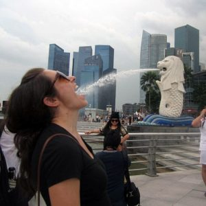 Jackie in Singapore