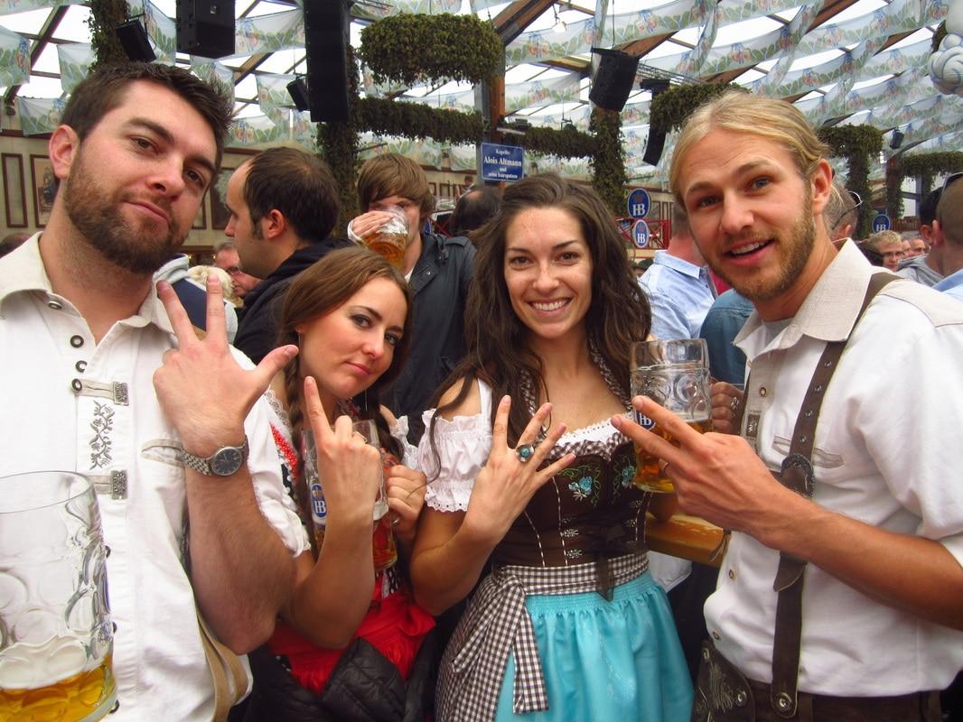 Oktoberfest Buddies