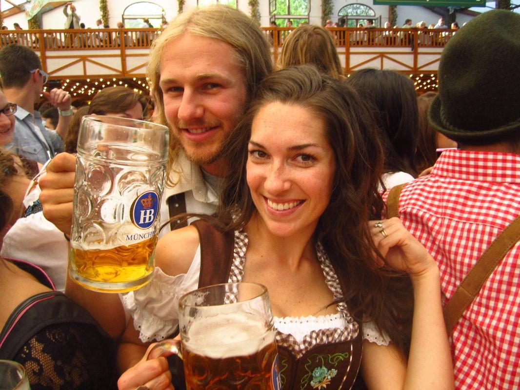 Nate & Jackie Oktoberfest
