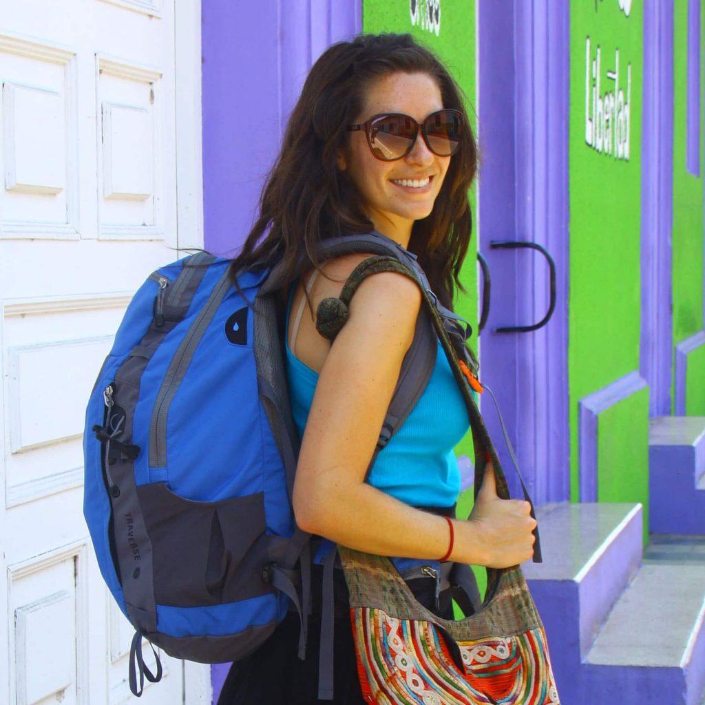 Jackie in Nicaragua