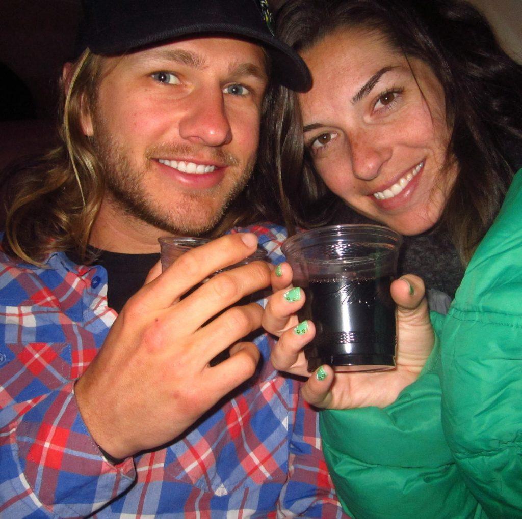 Free wine on Alaska Air