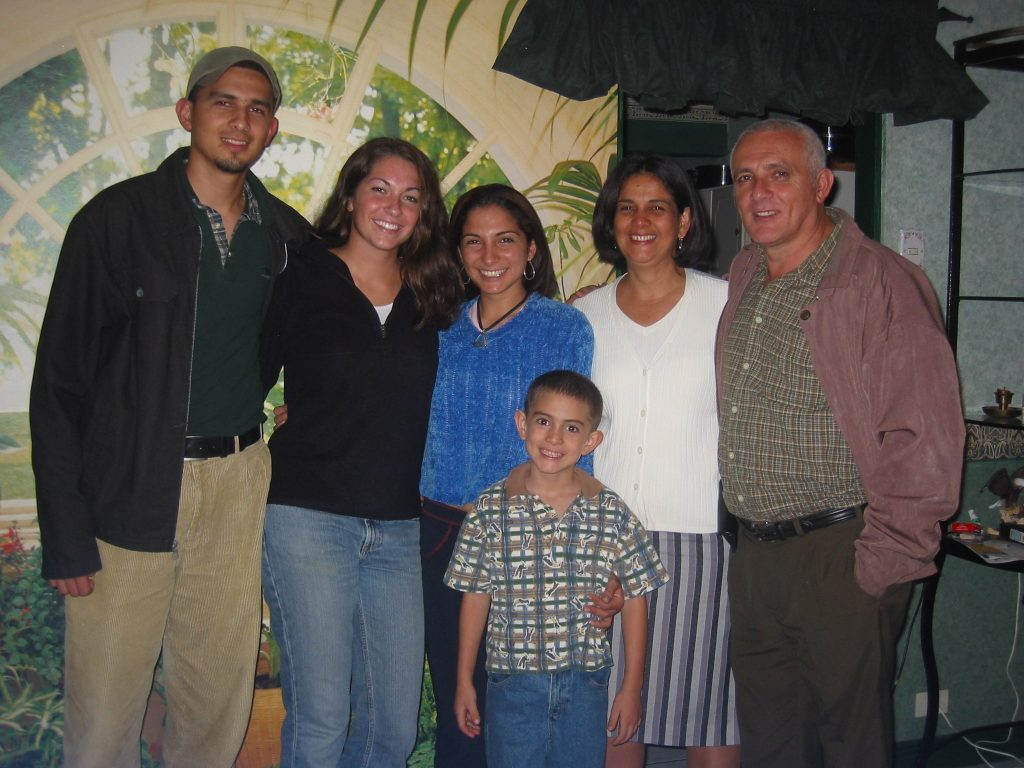Costa Rica Host Family