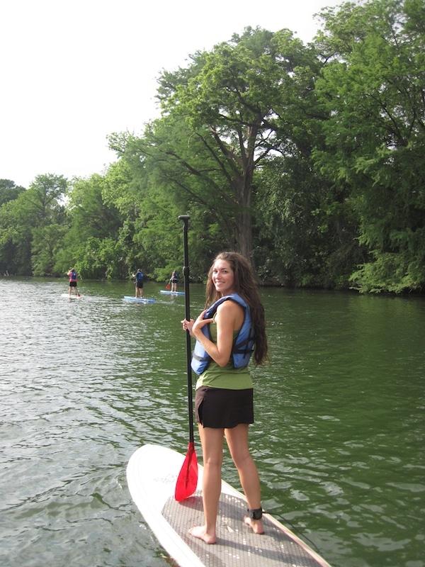 Paddle Boarding Austin