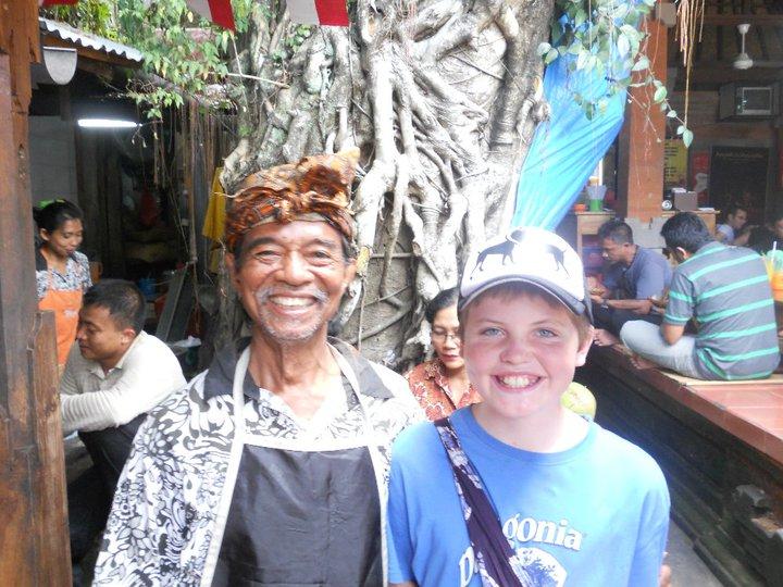 Graham in Indonesia