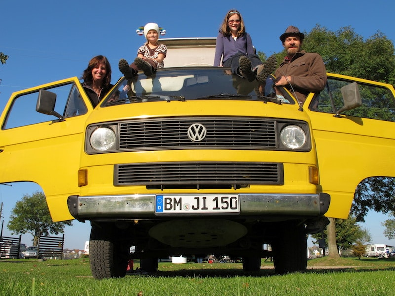 Touring Europe in a VW Van
