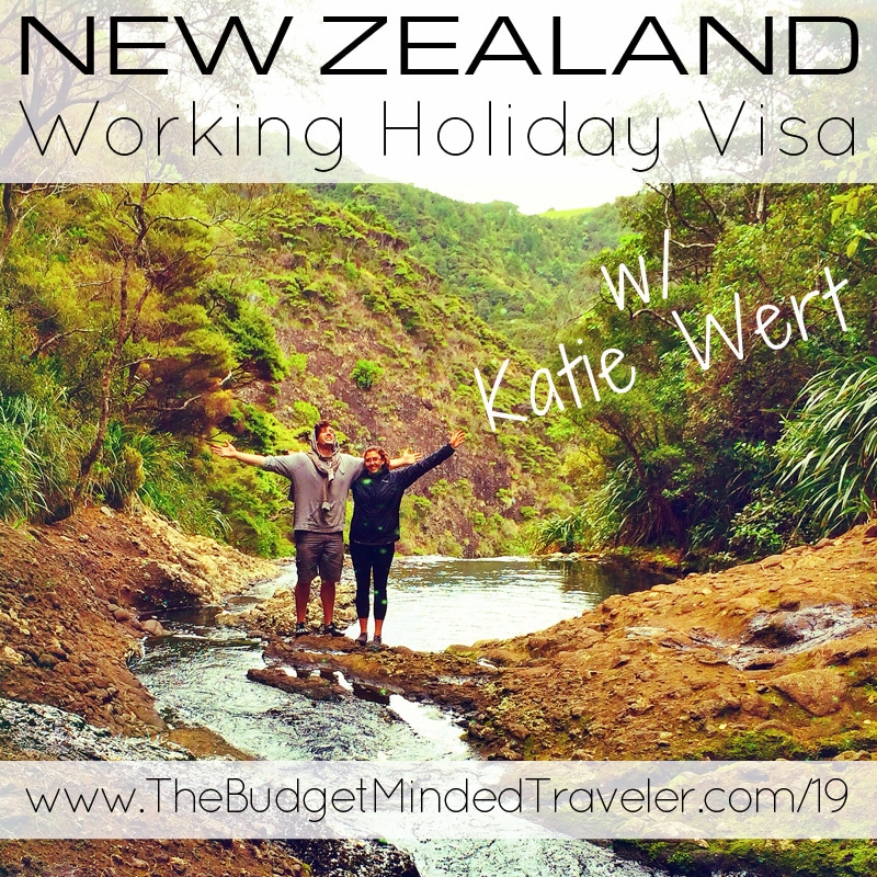 New Zealand Working Holiday Visa