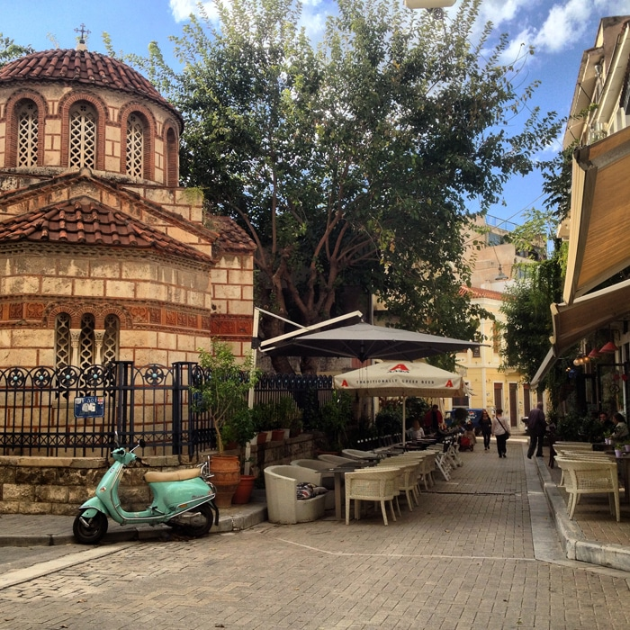 Back Streets of Athens