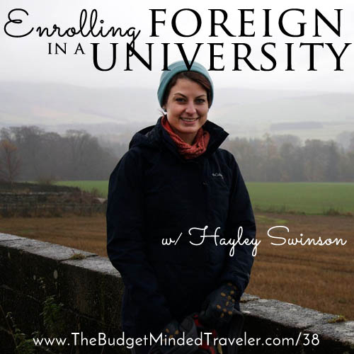 Enrolling in a Foreign University