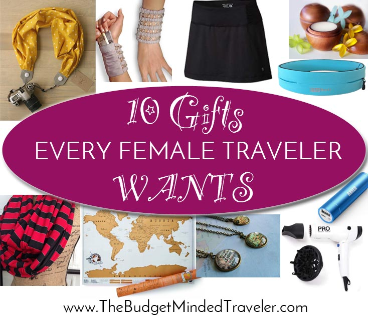 Gifts for female travelers