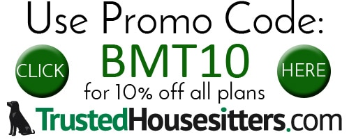 Trusted HouseSitters Promo Code