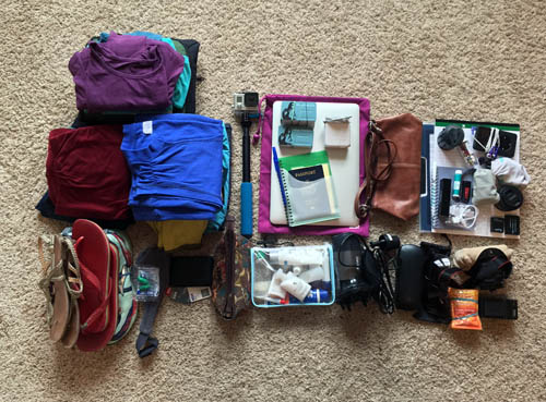 Packing for one month