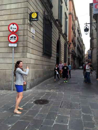Plaza in Barcelona