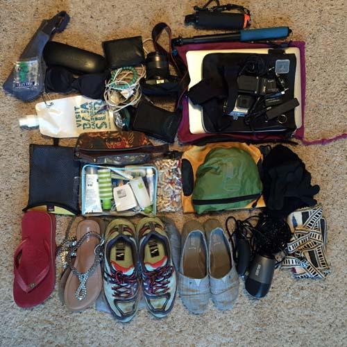 Packing List for Ecuador