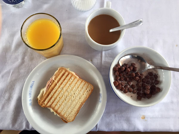 Busabout Croatia Sail Breakfast