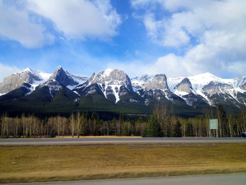 Canmore Banff Highway