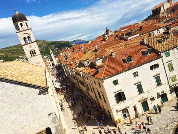 Dubrovnik Old City Streets