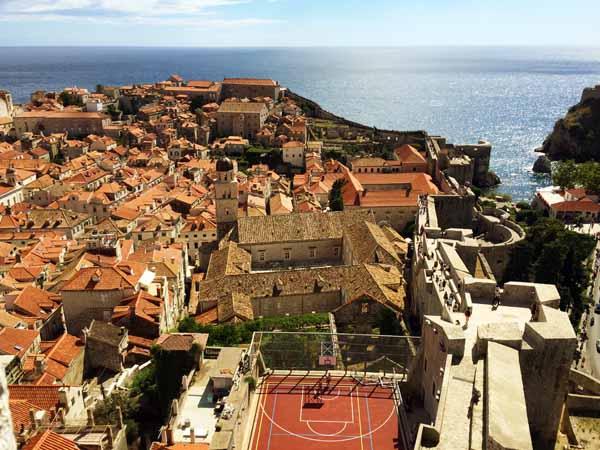 Dubrovnik City Looking West