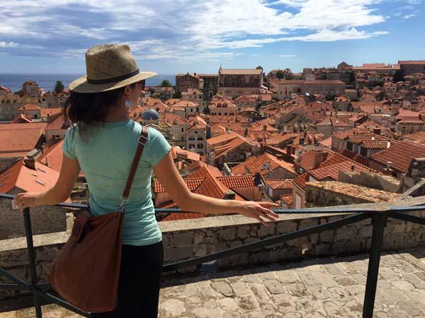 Overlooking Dubrovnik