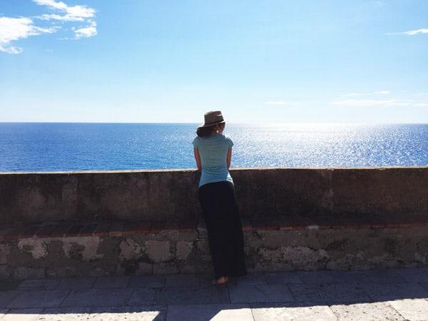 Western walls of Dubrovnik
