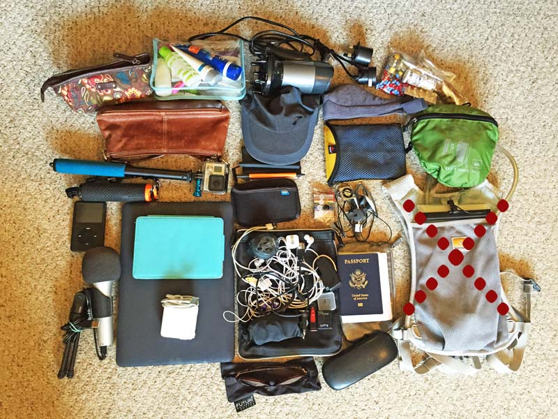 Gadgets to Pack for a year