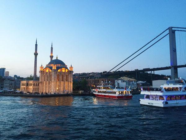Ortaköy Mosque Bosphorus Istanbul