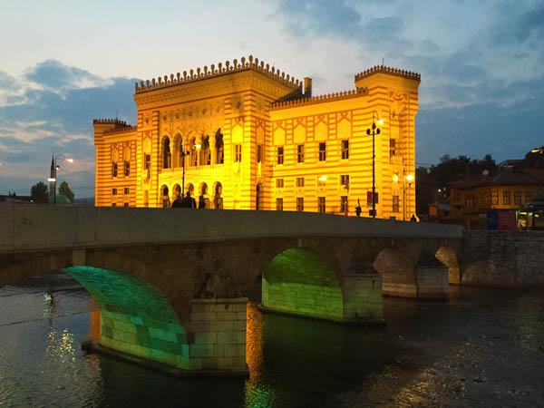 National Library Sarajevo