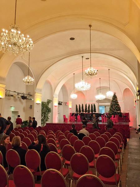 Concert Hall Schonbrunn Palace