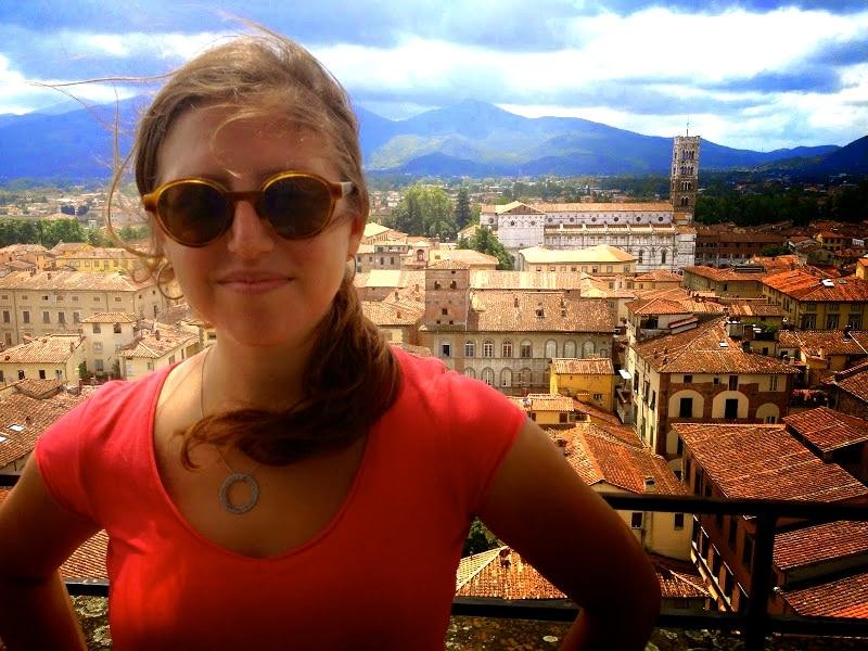 Rachel Sales in Lucca Italy