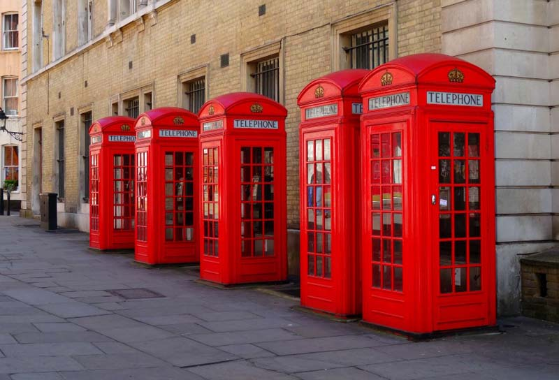 Red Phone Booths London