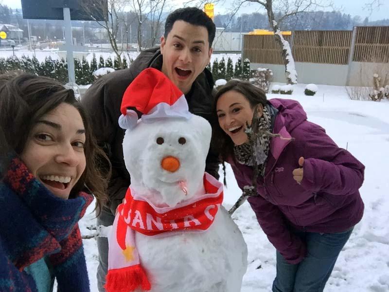 Austria Snow Day