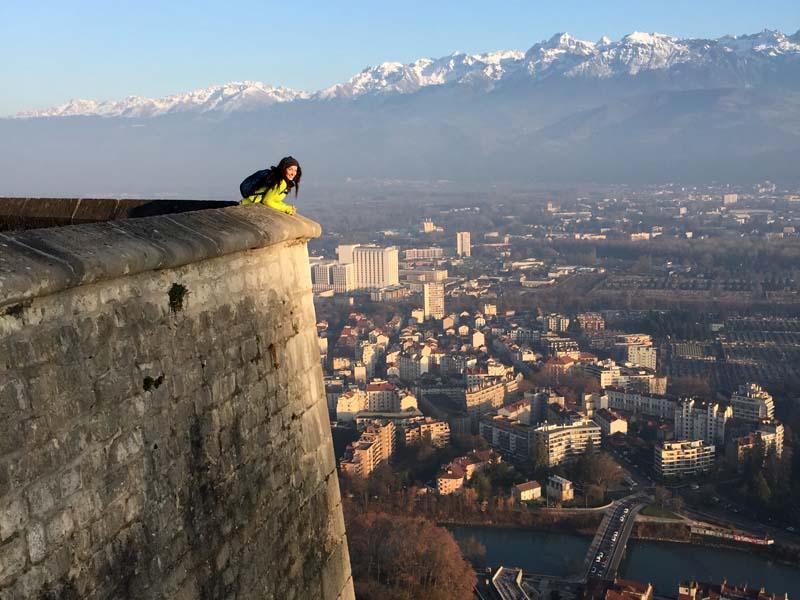 Grenoble Bastille Hike