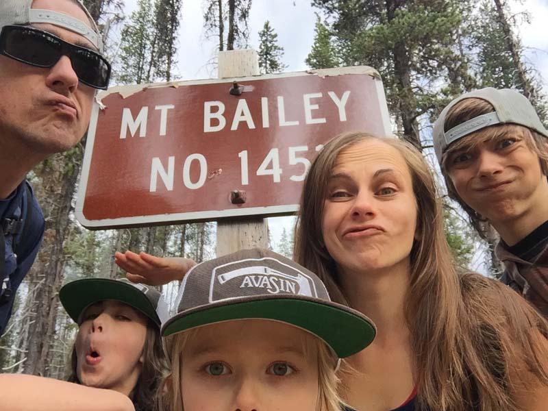 Bensons traveling family