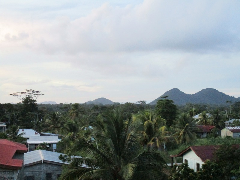 Punta Gorda, Belize from a rooftop.