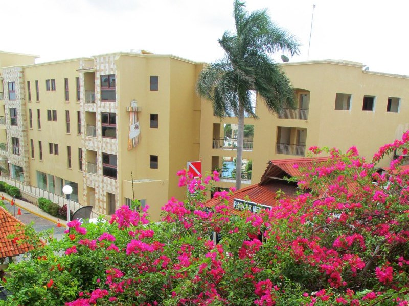 view from hotel in playa del carmen