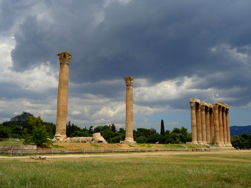 Athens Temple of Zeus