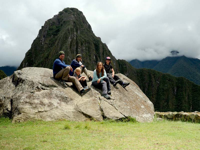 Family Travel Machu Picchu
