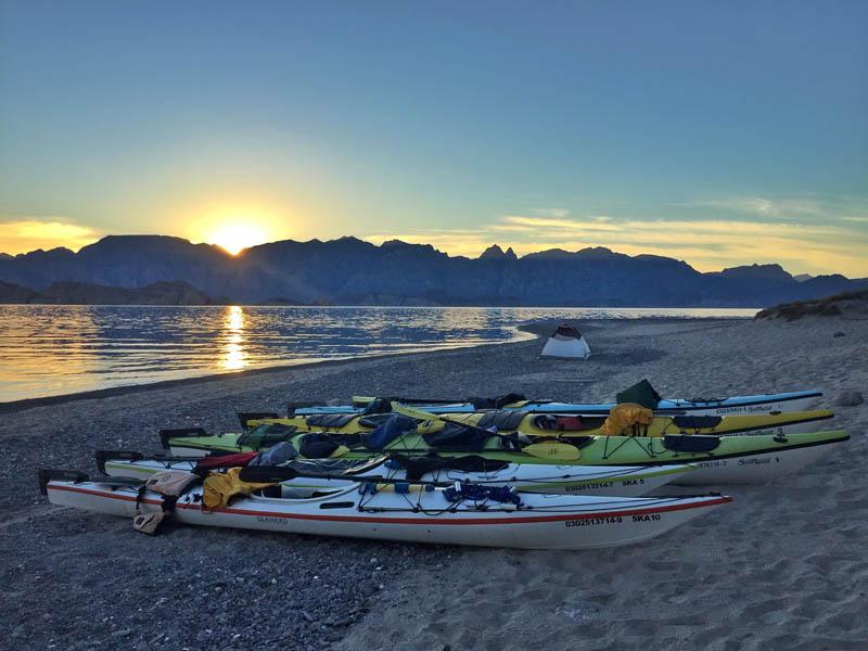 Kayak Camping Baja