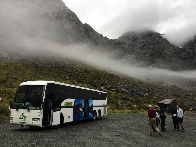 bus tours in new zealand