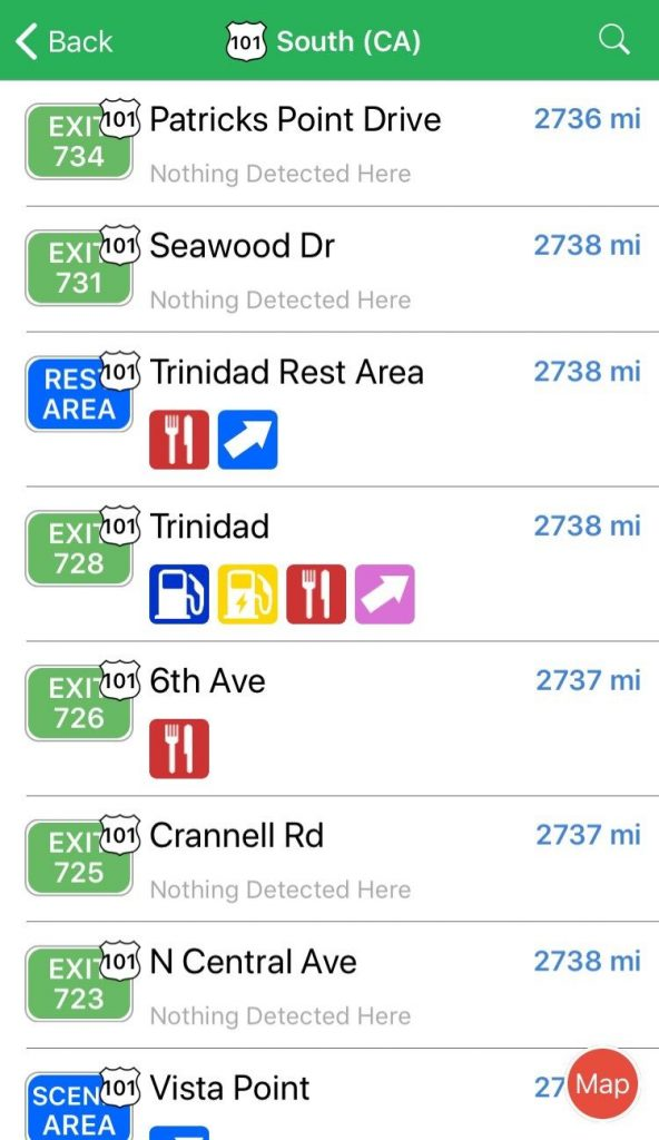 road trip apps iexit