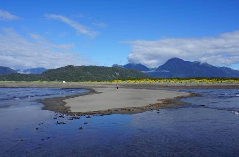 Patagonian beach