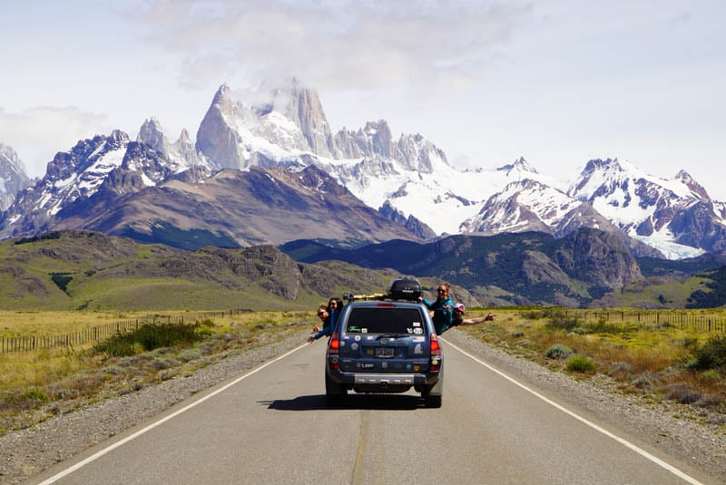 Road to El Chalten Argentina