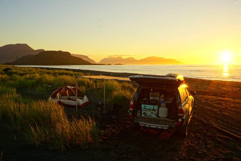 Raul Marin Balmaceda beach camp