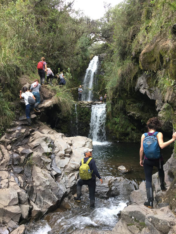 Waterfall Hike Cotopaxi