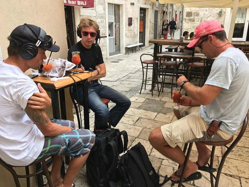 Pubcasting in Split, Croatia