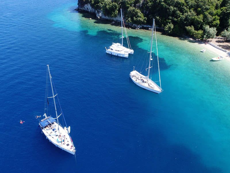 greece sailing trip