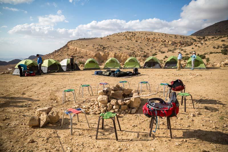 Jordan Trail Camping