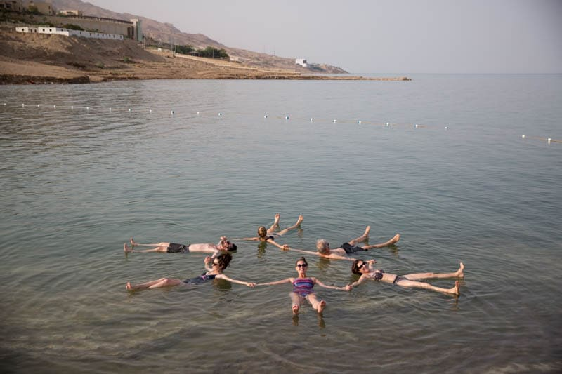 Group Float Dead Sea