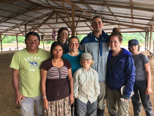 family travel ecuador