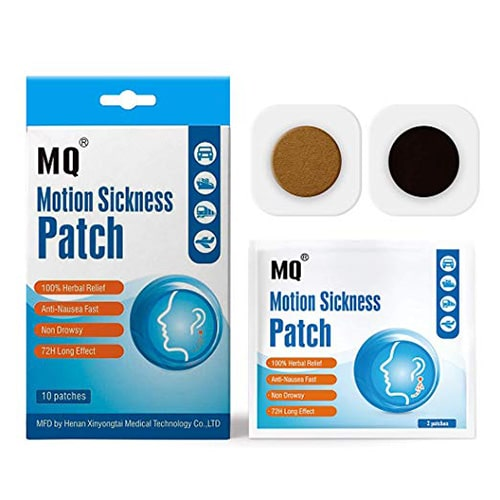 Some people use patches to prevent motion sickness.